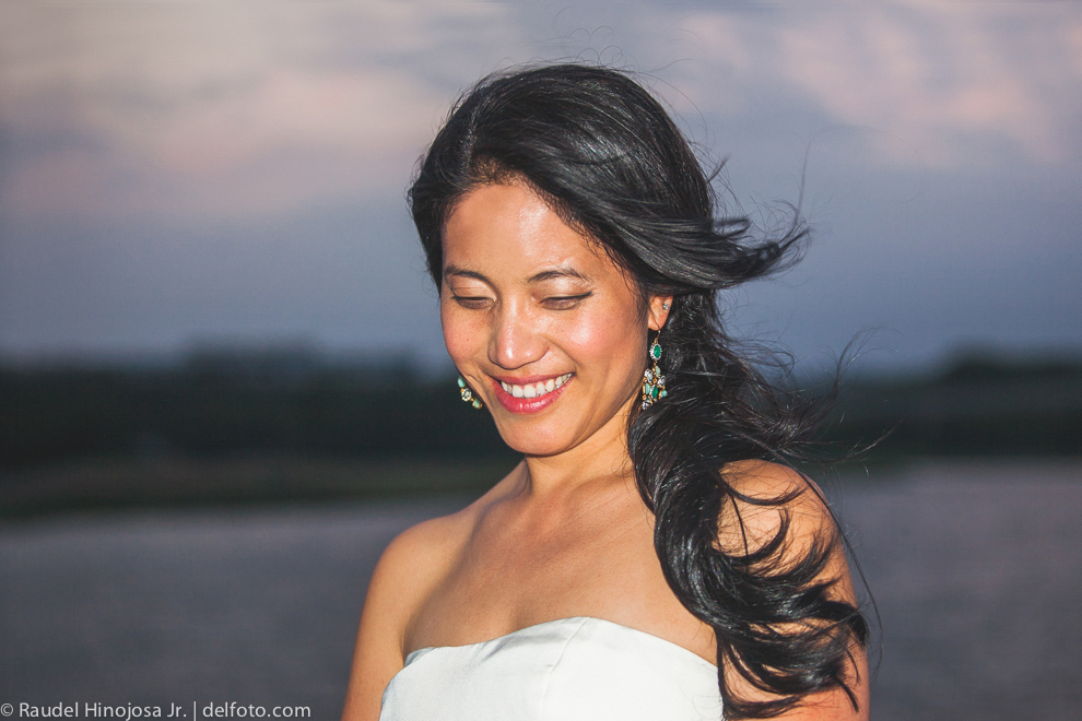 Ning, A Spring Lake Travis Wedding Bridal Portrait in Austin Texas
