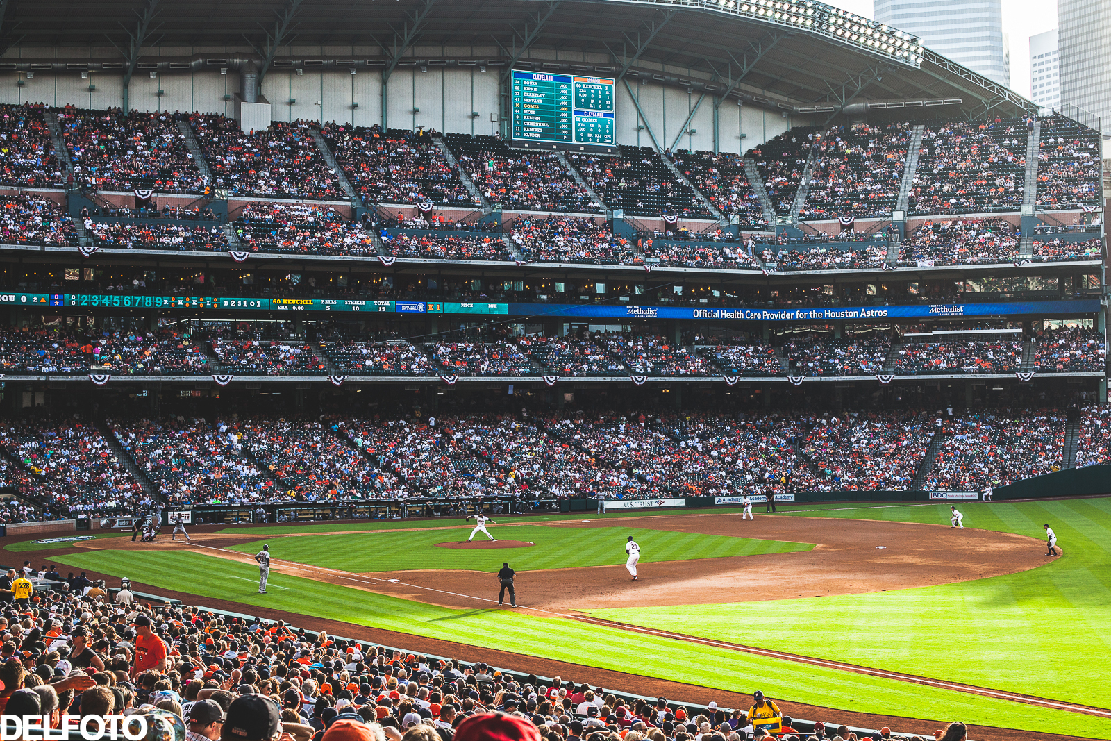 Houston Astros Home Opener 2015 Baseball Texas MLB Minute Maid Park Cleveland Indians