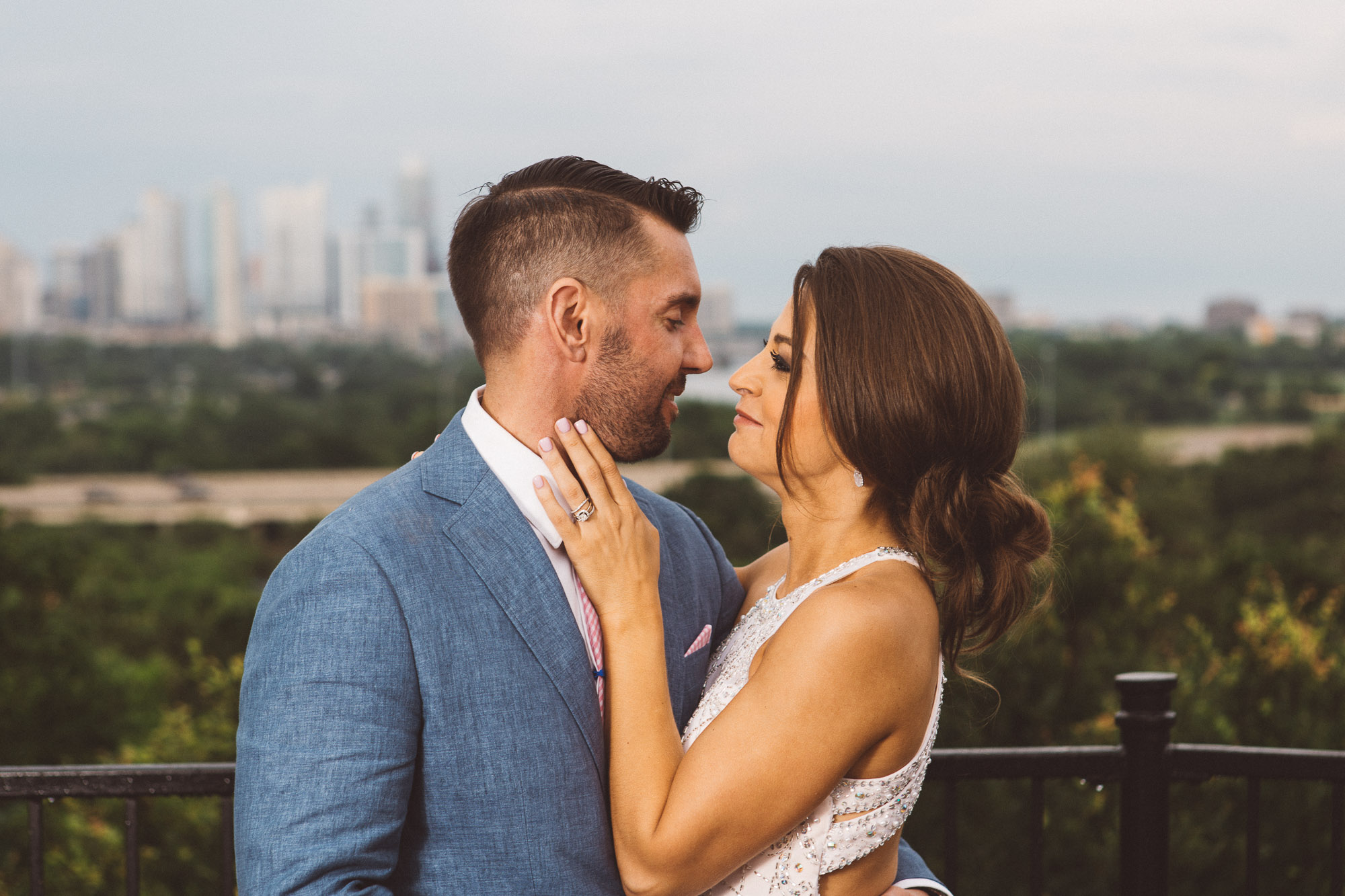 zilker park clubhouse wedding photographer portraits bride groom