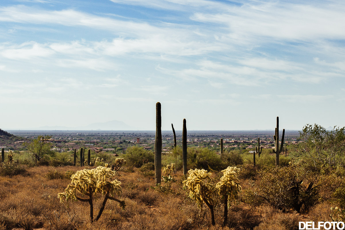 Arizona Phoenix Sonoran Desert Travel Photography Mountains