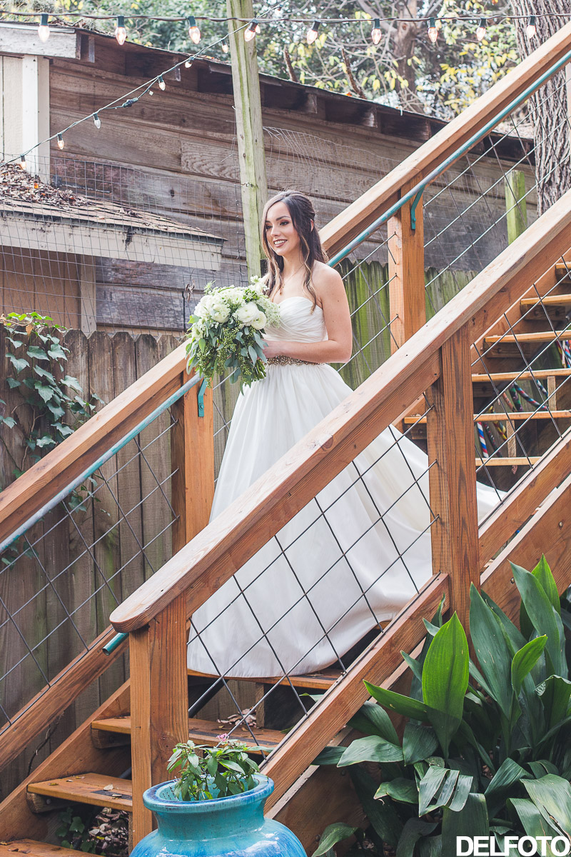 Austin Wedding Photographer Photography Sanctuary First Look Bride