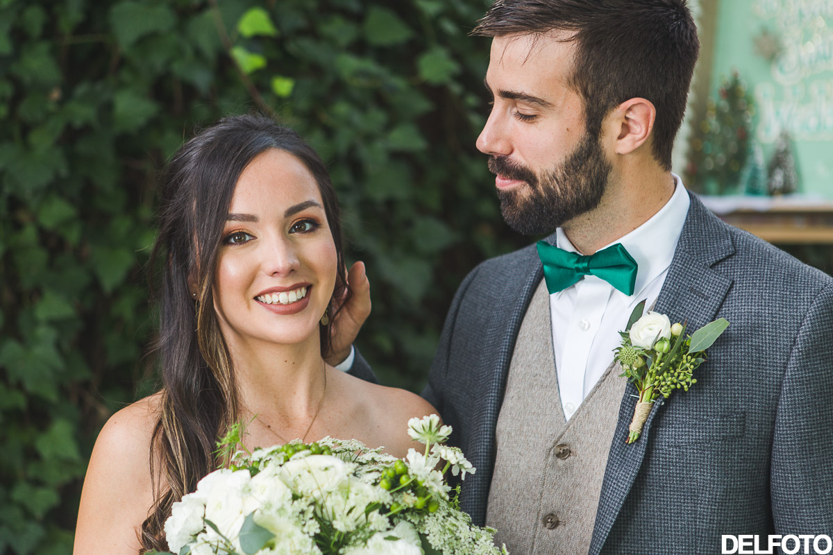 Austin Wedding Photographer Photography Sanctuary First Look Bride Groom Portrait