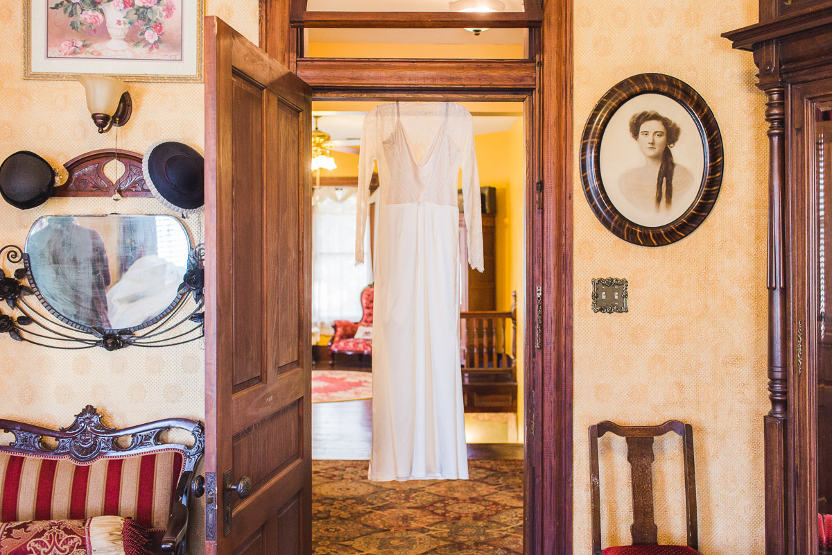 wedding dress page house historic