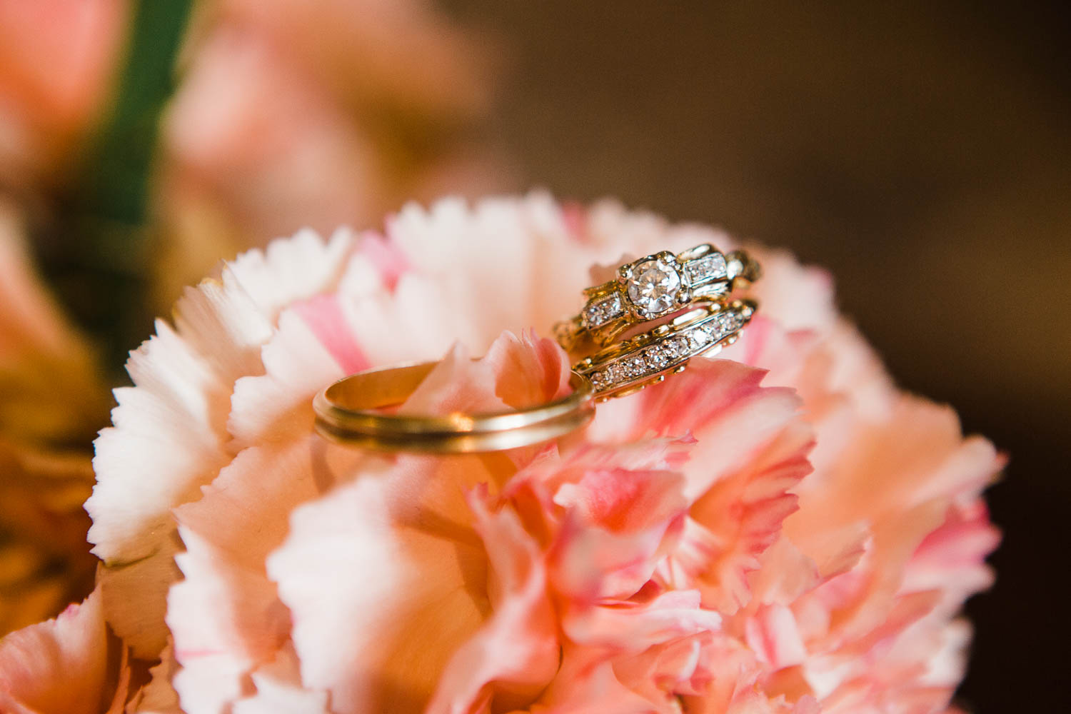 wedding details ring engagement rings austin texas photographer sanctuary